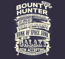 Space Bounty Hunter For Hire Mens V-Neck T-Shirt