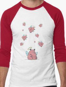 Many Hippos Men's Baseball ¾ T-Shirt