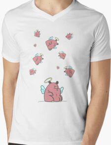Many Hippos Mens V-Neck T-Shirt