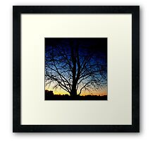 Twilight Framed Print