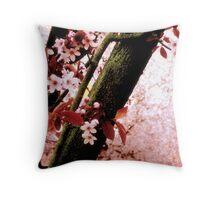 Blossom Heaven Throw Pillow