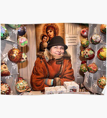 Ukrainian Ornaments Poster