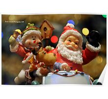 Bokeh-Clause Is Coming To Town Poster