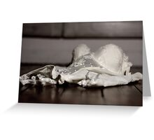Lingerie Greeting Card