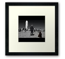 Watching a Dream Framed Print