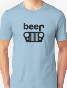 Jeep Logo - Beer Unisex T-Shirt