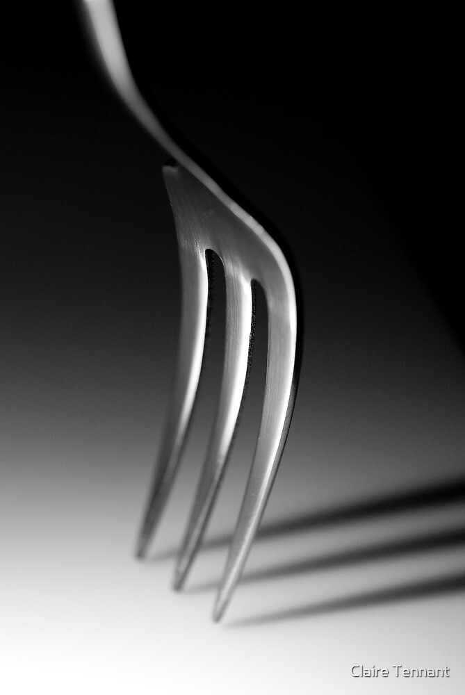 Freestanding Fork by Claire Tennant