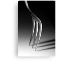 Freestanding Fork Canvas Print