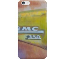 Closeup GMC iPhone Case/Skin
