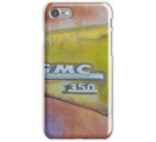 Closeup GMC iPhone Case/Skin