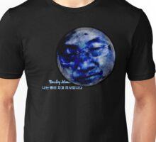 Bonky Moon [Black Shirt] Unisex T-Shirt