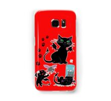 Pooka the Goblin Cat Samsung Galaxy Case/Skin