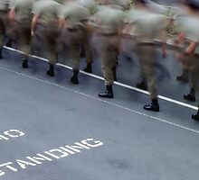 No Standing - Anzac Day by Eve Parry