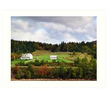 Home in the Country Art Print