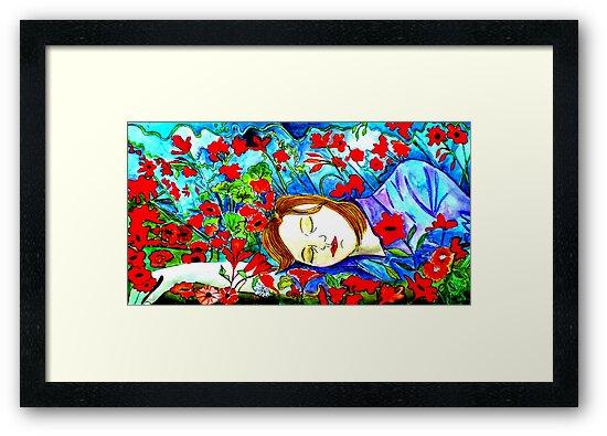 """Dreaming by Belinda """"BillyLee"""" NYE (Printmaker)"""