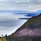 Cape Smokey Lookoff by Jann Ashworth
