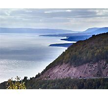 Cape Smokey Lookoff Photographic Print