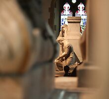 Across the Chancel by Dave Godden