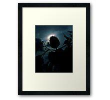 Spike Seed Pod Framed Print