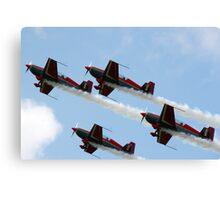 Royal Jordanian Falcons Canvas Print