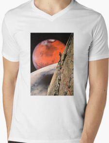 Explore Mens V-Neck T-Shirt