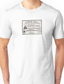 SNL Ticket Unisex T-Shirt
