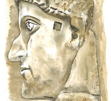 Emperor Constantine the great, Rome c. 315 by Greta Art