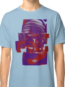 """Collage Face #5 """"Rainbow Hat"""" Classic T-Shirt"""