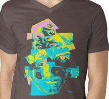 "Collage Face #6 ""Rainbow Craig"" Mens V-Neck T-Shirt"