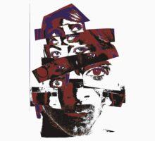"Collage Face #7 ""Dark Rainbow Craig"" T-Shirt"