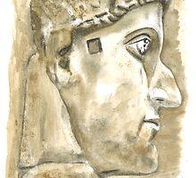 Emperor Constantine the Great, c. 315 by Greta Art