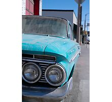 Vintage Chevy  Photographic Print