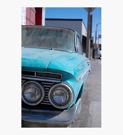 Vintage Chevy  Photographic Print
