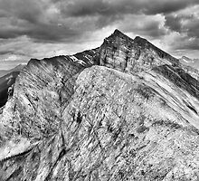 Mount Lawrence Grassi from Ha Ling Peak by Neil Thompson