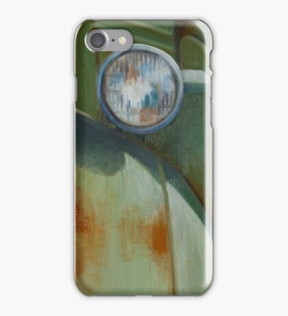 With The Compliments of Rust iPhone Case/Skin