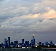 Melbourne Cloud by Joanna Beilby