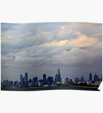 Melbourne Cloud Poster