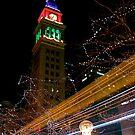 Clocktower Christmas by greg1701
