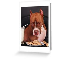I didn't touch the cookies Mom Greeting Card