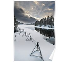 Maligne Lake, Jasper National Park Poster