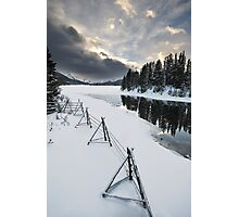 Maligne Lake, Jasper National Park Photographic Print