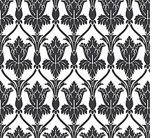 Sherlock Wallpaper Pattern by VASSdesign