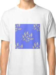 Indigo Leaves Classic T-Shirt
