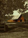 The Barn... by Karen  Helgesen