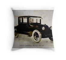 1920 Cadillac Throw Pillow
