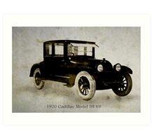 1920 Cadillac Art Print