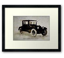 1920 Cadillac Framed Print