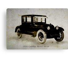 1920 Cadillac Canvas Print
