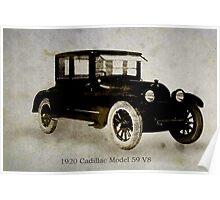1920 Cadillac Poster
