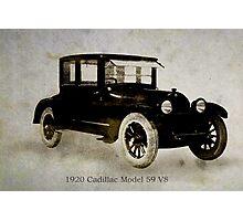 1920 Cadillac Photographic Print